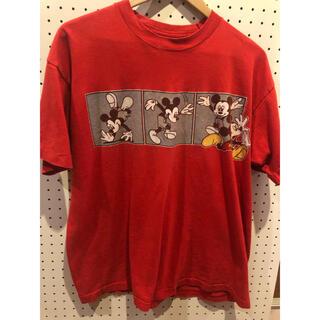Disney - 人気90年代ミッキー古着キャラTシャツXLディズニーレディースでも◎