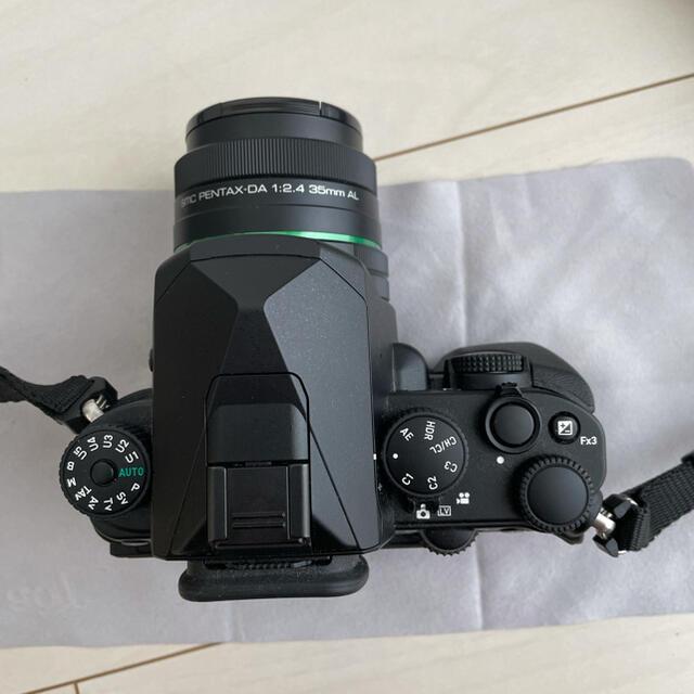 PENTAX(ペンタックス)のペンタックスKP DA35mmF2.4 22年3月迄保証あり スマホ/家電/カメラのカメラ(デジタル一眼)の商品写真