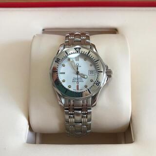 オメガ(OMEGA)の美品 OMEGA オメガ シーマスター プロ 300m防水 レディース 時計(腕時計)
