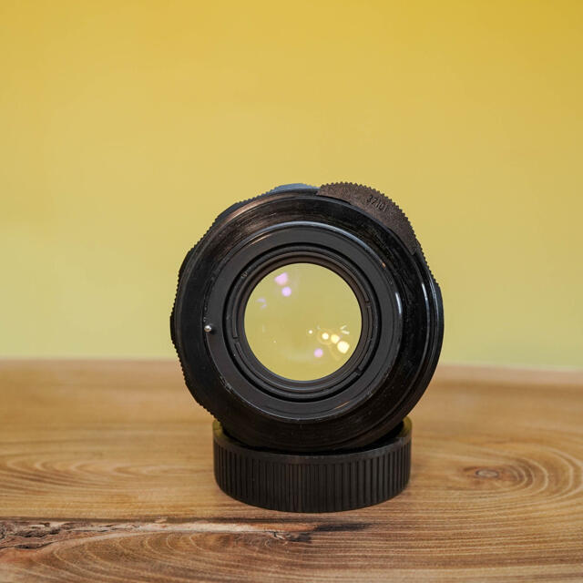 PENTAX(ペンタックス)の【商談中】スーパータクマー 55mm f1.8  定番オールドレンズ スマホ/家電/カメラのカメラ(レンズ(単焦点))の商品写真