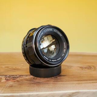 PENTAX - 【美品】スーパータクマー 55mm f1.8  定番オールドレンズ