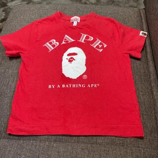 アベイシングエイプ(A BATHING APE)のエイプ キッズ 半袖 Tシャツ 110cm(Tシャツ/カットソー)