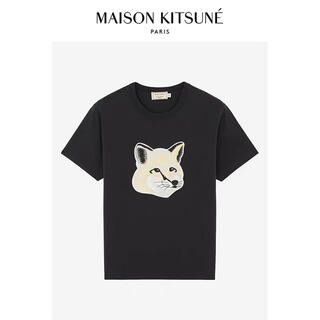 メゾンキツネ(MAISON KITSUNE')のMAISON KITSUNEメゾンキツネ  Tシャツ男女兼用 大きいキツネ(Tシャツ/カットソー(半袖/袖なし))