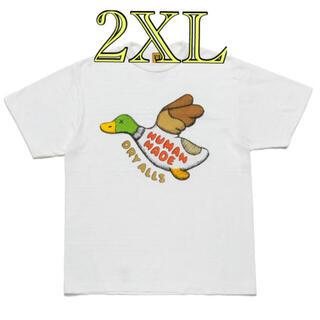 メディコムトイ(MEDICOM TOY)のHUMAN MADE KAWS SHIRT #2 ヒューマンメイド カウズ(Tシャツ/カットソー(半袖/袖なし))