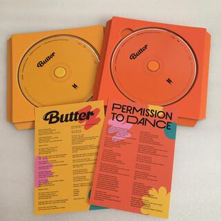 防弾少年団(BTS) - 防弾少年団 BTS Butter CD+歌詞カード 2種セット