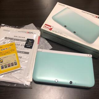 週末限定値下げ!!!Nintendo 3DS  LL 本体ミント/ホワイト