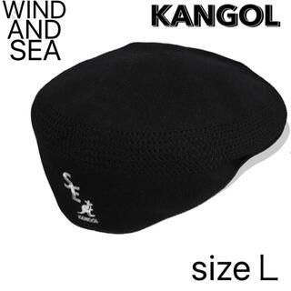 シー(SEA)のWIND AND SEA✖️KANGOL ハンチング(ハンチング/ベレー帽)