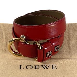 LOEWE - ✨美品✨ アナグラム LOEWE レザー ベルト