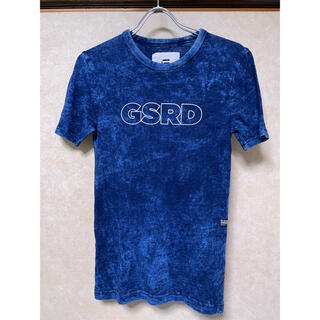 ジースター(G-STAR RAW)の■ジースターロウ デニム柄Tシャツ XS(Tシャツ/カットソー(半袖/袖なし))