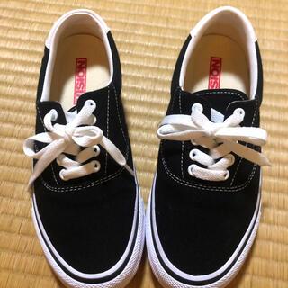 ヴィジョン ストリート ウェア(VISION STREET WEAR)のスニーカー 靴 黒 VISION  レディース 未使用(スニーカー)