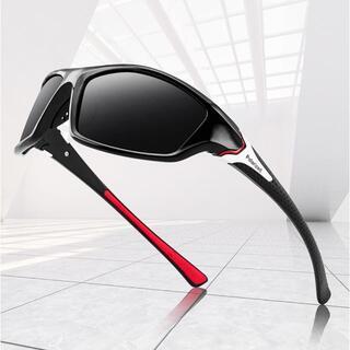 スポーツサングラスNO.2 偏光レンズ UVカット 軽量 ゴルフ 釣り