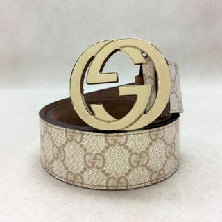 グッチ(Gucci)の✨販売証明書あり✨GUCCI インターロッキングG GGジャガード ベルト(ベルト)