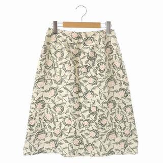 mina perhonen - ミナペルホネン mina perhonen rosette 花柄Aラインスカート