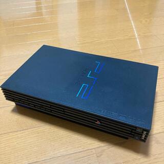 プレイステーション2(PlayStation2)の【本体のみ】SONY PS2 SCPH-50000 ミッドナイト ブラック(家庭用ゲーム機本体)