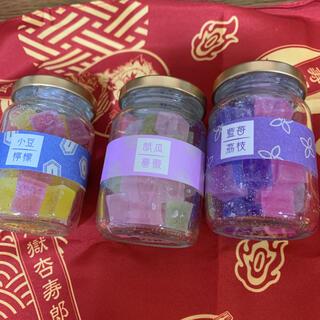 鬼滅の刃 琥珀糖 3個セット(菓子/デザート)