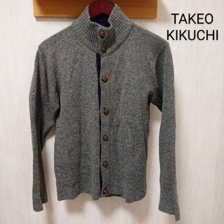 タケオキクチ(TAKEO KIKUCHI)のTAKEO KIKUCHI カーディガン タケオキクチ TK メンズ セーター(カーディガン)