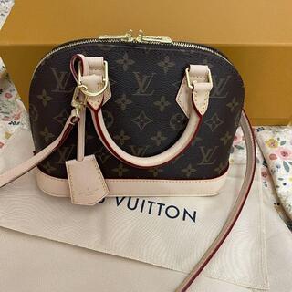 LOUIS VUITTON - 美品 ルイ ヴィトン アルマBB モノグラム 2wayショルダー ハンドバッグ