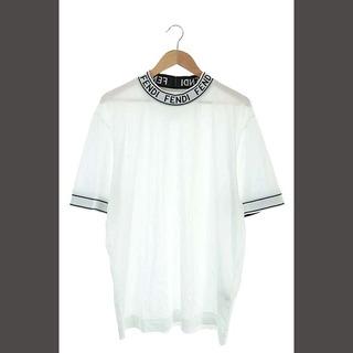 フェンディ(FENDI)のフェンディ 2020AW Tシャツ カットソー モックネック ハイネック ロゴ(Tシャツ/カットソー(半袖/袖なし))