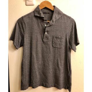 スーツカンパニー(THE SUIT COMPANY)のUniversal Language ホリゾンタルワイド ポロシャツ(ポロシャツ)