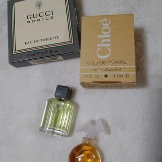 グッチ(Gucci)のグッチ クロエ ミニ香水 2個セット(香水(女性用))