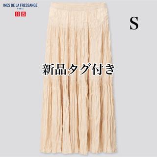 UNIQLO - ユニクロ イネス ツイストプリーツロングスカート