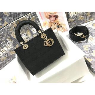 ディオール(Dior)のクリスチャンディオール レディディオール カナージュ 2WAY バッグ(ショルダーバッグ)