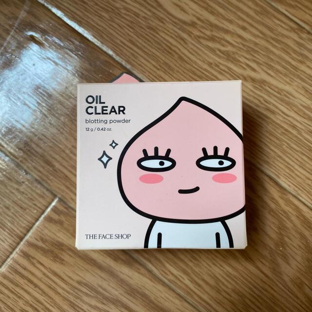 THE FACE SHOP(ザフェイスショップ)の【新品】OIL CLEAR blotting powder コスメ/美容のベースメイク/化粧品(フェイスパウダー)の商品写真