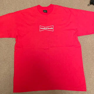ジーディーシー(GDC)のwasted youth red 赤 ベルディ XL verdy beats(Tシャツ/カットソー(半袖/袖なし))