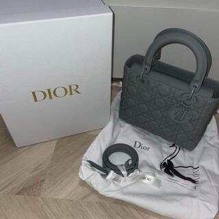 ディオール(Dior)の【美品】 Lady dior マット(ショルダーバッグ)