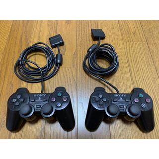 プレイステーション2(PlayStation2)のPS2 純正 コントローラー2個 DUALSHOCK 2(その他)