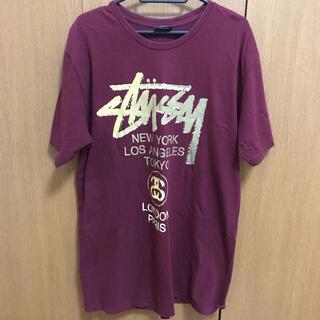 STUSSY - 美品 STUSSY ステューシー ロゴ Tシャツ