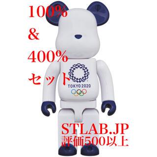 MEDICOM TOY - BE@RBRICK 100% & 400% 東京2020オリンピックエンブレム