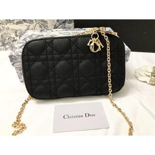 ディオール(Dior)の【美品】DIOR クリスチャンディオ(ショルダーバッグ)