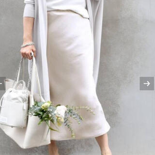 DEUXIEME CLASSE - 【新品】Deuxieme Classe Vintage Satin スカート