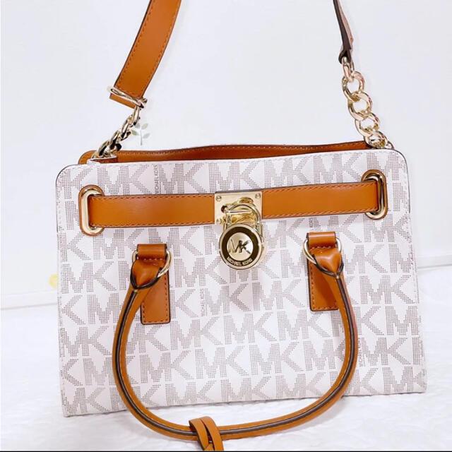 Michael Kors(マイケルコース)のマイケルコース本革ハンドバック新品 レディースのバッグ(ハンドバッグ)の商品写真