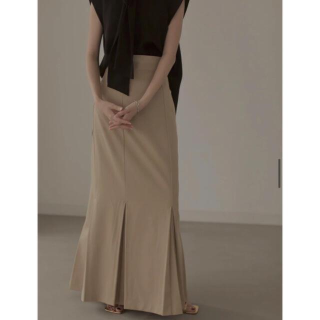 Ameri VINTAGE(アメリヴィンテージ)のlourenマーメイドプリーツスカートmermaid pleats skirt レディースのスカート(ロングスカート)の商品写真