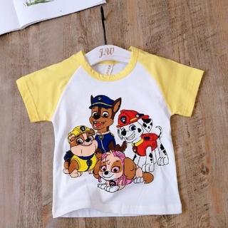 パウパトロール Tシャツ 半袖 110 黄色