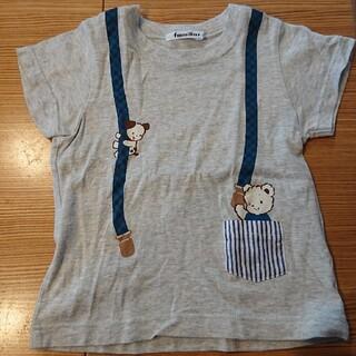 familiar - 複数回着用 ファミリア ファミちゃんTシャツ 100cm