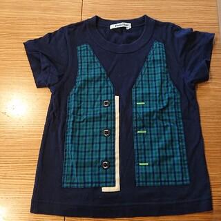 familiar - 複数回着用 ファミリア XBベスト柄Tシャツ 100cm