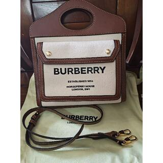BURBERRY - BURBERRYバーバリー ポケットバッグ ショルダーバッグ