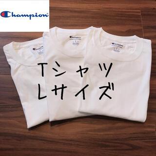 Champion - 【訳あり】チャンピオン メンズ 半袖 Tシャツ トップス 白T 洋服 L