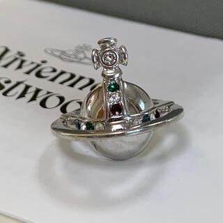 ヴィヴィアンウエストウッド(Vivienne Westwood)のソリッドオーブリング⭐︎販売証明書付 XSサイズ シルバー(リング(指輪))