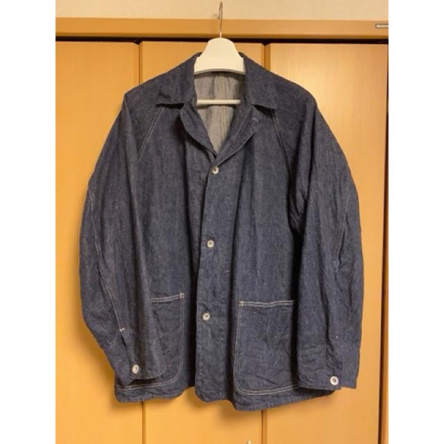 COMOLI(コモリ)の【新品未使用サイズ2】COMOLI 21AW デニムワークジャケット メンズのジャケット/アウター(Gジャン/デニムジャケット)の商品写真