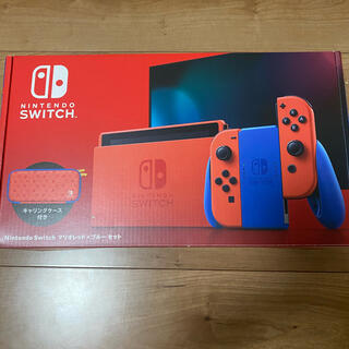 Nintendo Switch - ニンテンドースイッチマリオレッドブルー