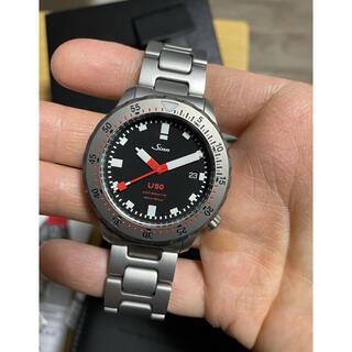 シン(SINN)の希少sinn U50 500M防水 定価385000円 美品 103 ezm3(腕時計(アナログ))
