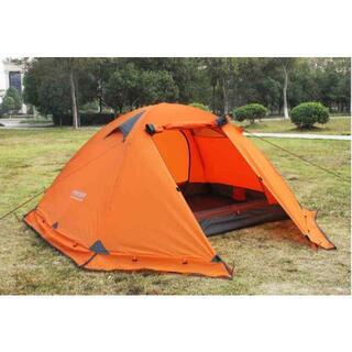 FLYTOP 4シーズン 1-2人用ドーム型テント スカート付 ソロキャン