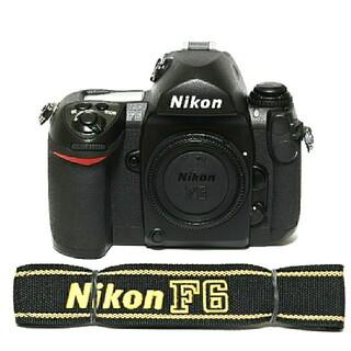 Nikon - 【Nikon】フィルムカメラ★F6★ボディキャップ&ストラップ付き