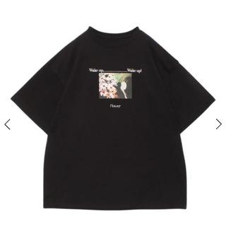eimy istoire - エイミーイストワール flower T-shirt   ディズニー Tシャツ