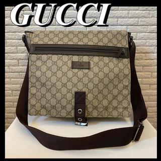Gucci - 【美品】GUCCI グッチ GGキャンバス メッセンジャーバッグ ショルダー
