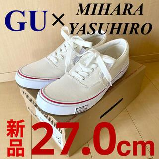 ジーユー(GU)の【新品未使用】GU MIHARA YASUHIRO ミハラヤスヒロ スニーカー(スニーカー)